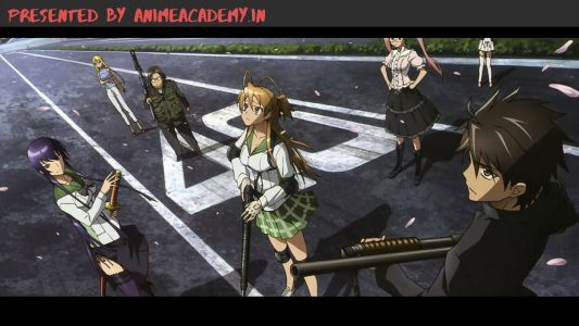 High School of the Dead Hindi Subbed [Completed]