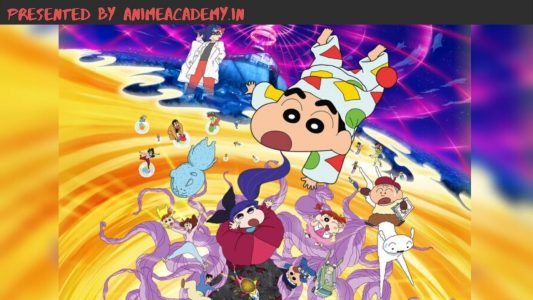 Crayon Shin-chan: Fast Asleep! The Great Assault on the Dreaming World!i [Movie Hindi Subbed]